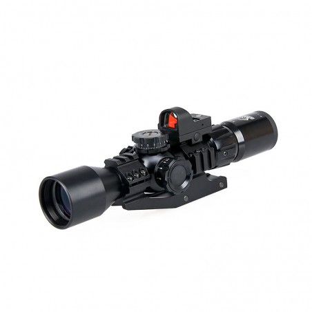 3-9x40 Rifle Scope+Red Dot...