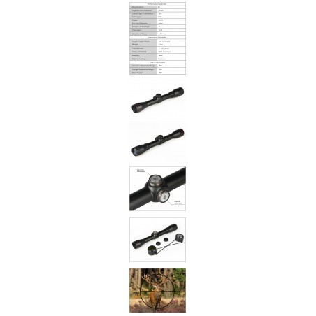 4x32 rifle scope for hunting